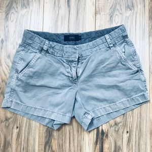 J. CREW | Gray Chino Shorts | Size 4